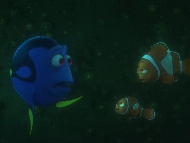 Finding Dory Reunites Nero And Marlin