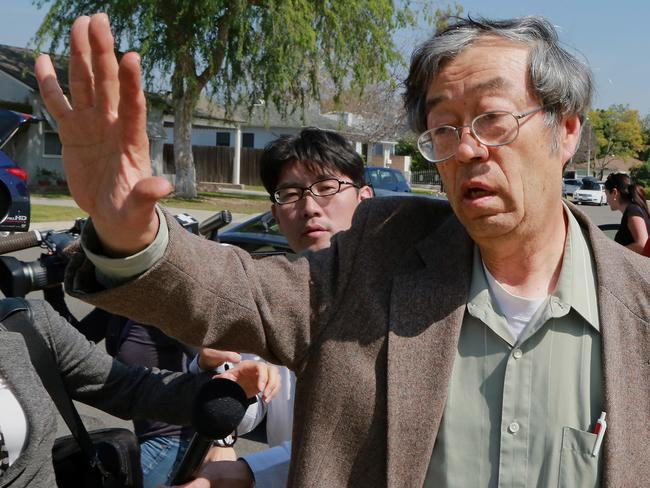 Dorian S. Nakamoto denied being the creator of bitcoin after being identified by Newsweek magazine. Picture: Jonathan Alcorn