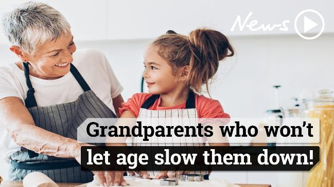 Grandparents who won't let age slow them down!