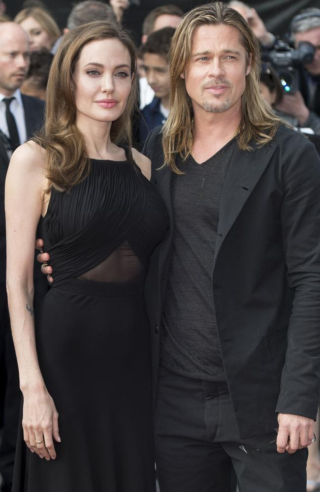 """Brangelina"" shocked the world with news of their split in 2016. Picture: Mark Cuthbert/UK Press via Getty Images"