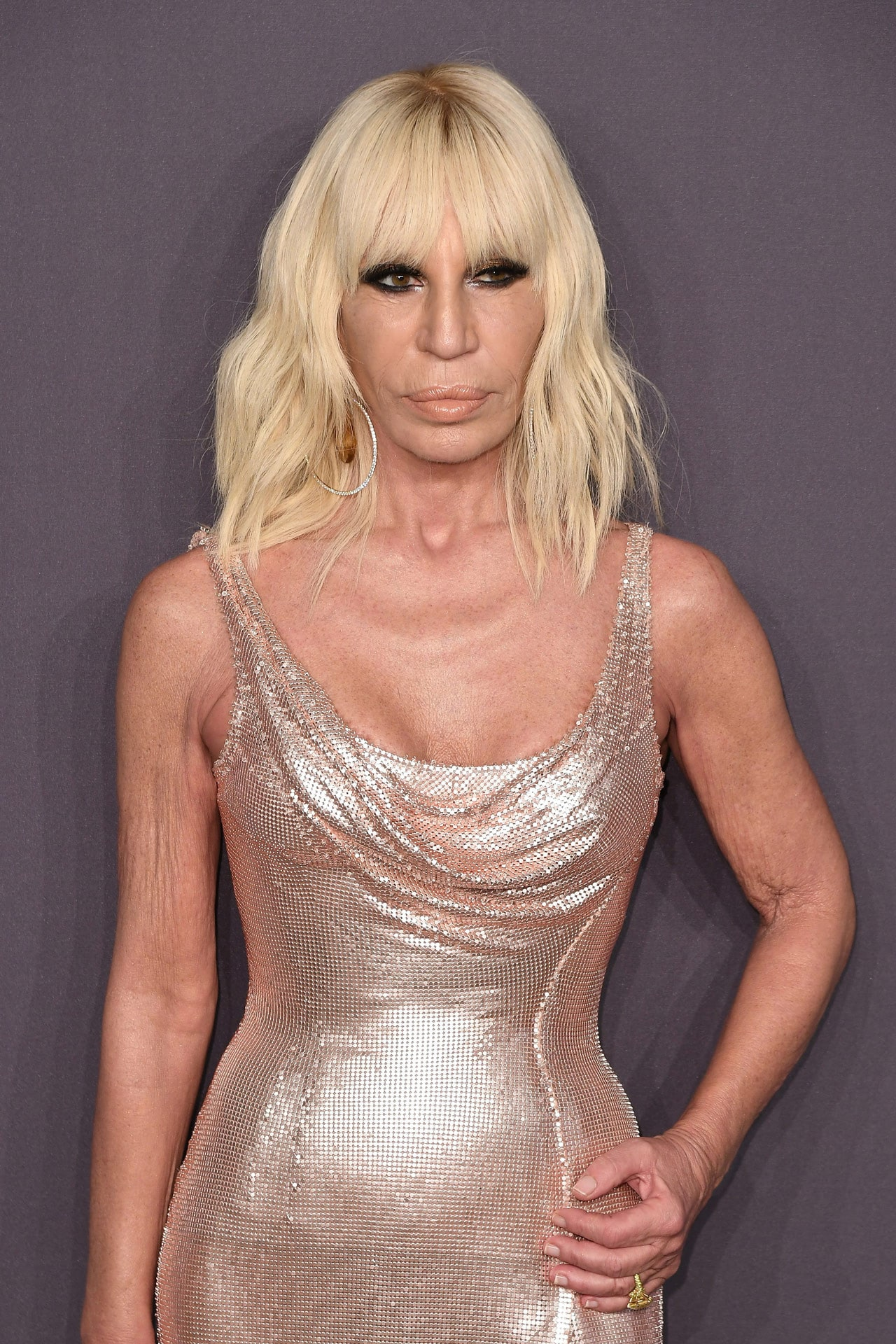 Donatella Versace has worked out every day for 18 years