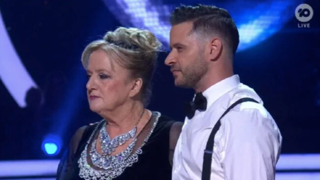 Denise Scott didn't take Horwood's criticism lying down Source: Channel 10