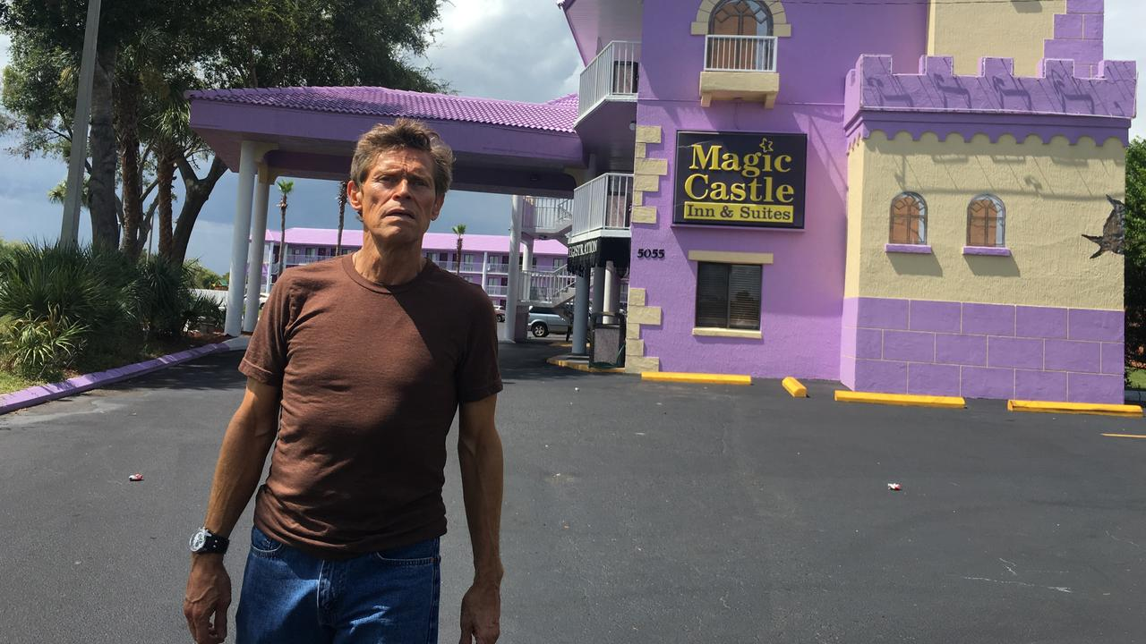 Resultado de imagen de the florida project willem dafoe