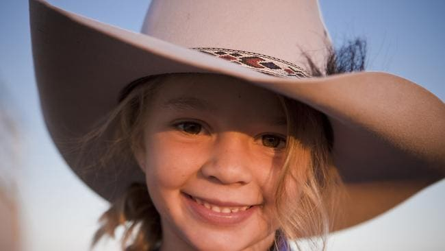 """Tracy said Dolly was a """"clever, gregarious outback kid"""". Picture: Supplied"""