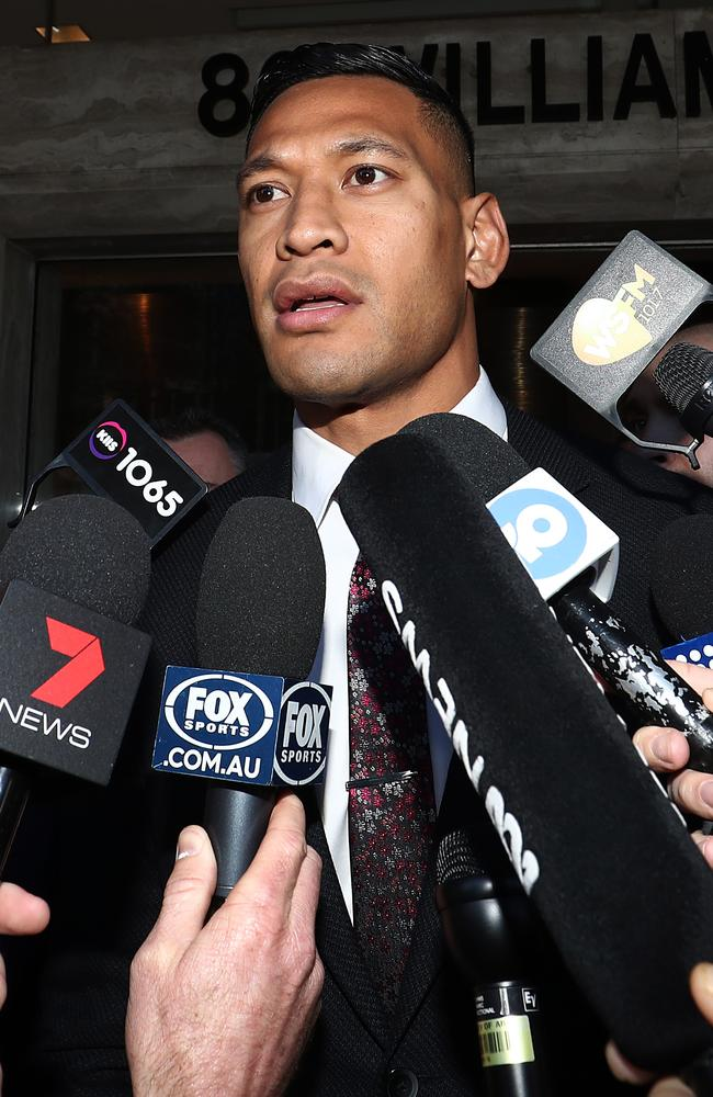 The recent Israel Folau controversy unearthed fresh demands for 'religious freedom'. Picture: Mark Metcalfe/Getty Images