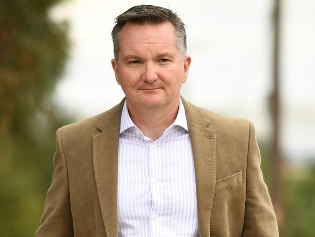 "Chris Bowen has hit back at Peter Dutton's threat of a ""list"". Picture: AAP"