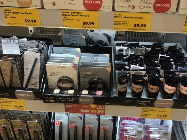 There was a whole world of bargain make-up items and because it was Aldi, I could afford to buy the lot.