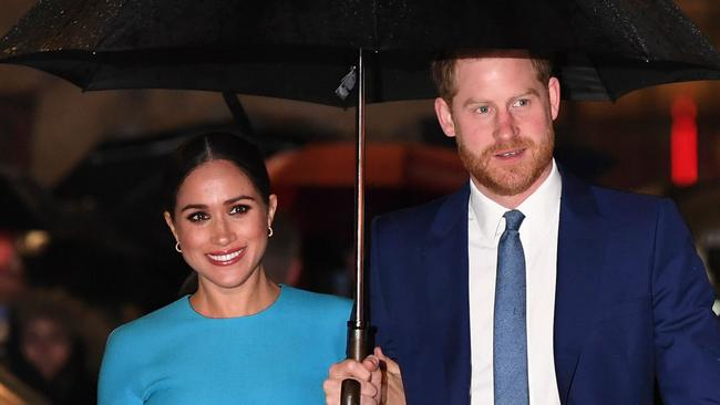 Harry and Meghan recently announced they would not be communicating with several of the UK's largest tabloids. Picture: Daniel Leal-Olivas/AFP