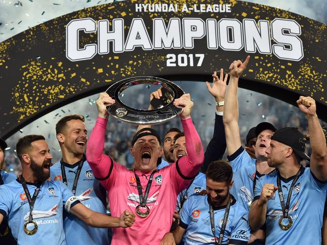 A-League champions Sydney FC will be live on One 10 times this season. Picture: AFP
