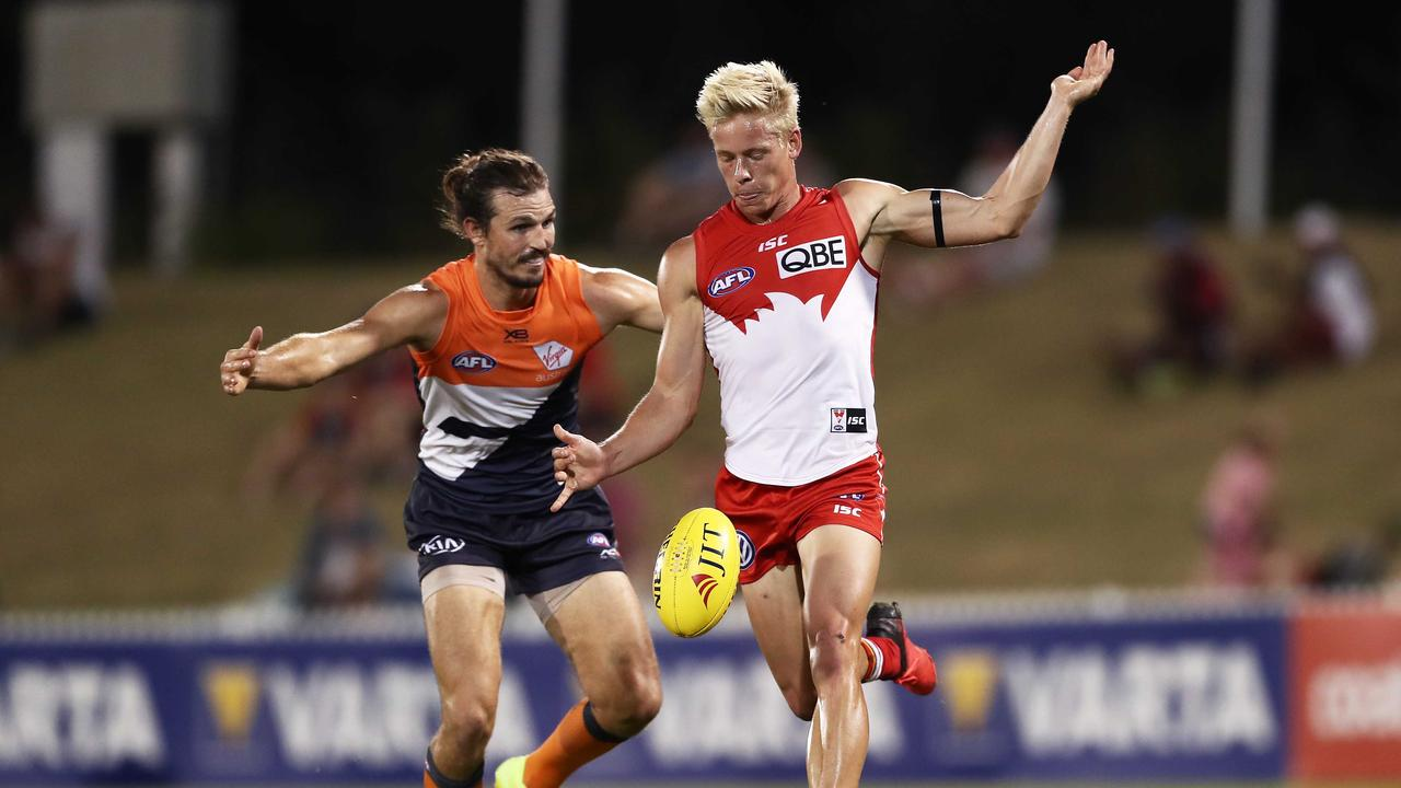 Isaac Heeney of the Swans looks set for a massive SuperCoach season in 2019