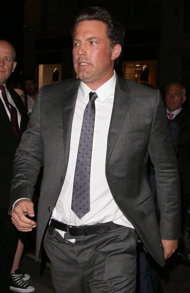 Ben Affleck in rehab: History of actor's sad addiction