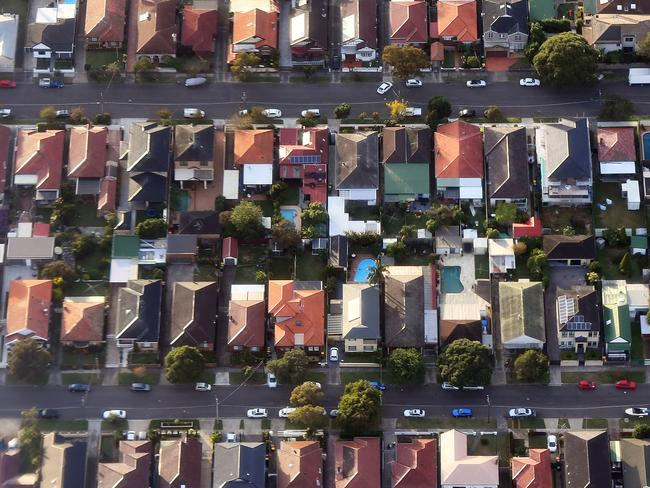 House prices may be on the rise again soon. Picture: AAP Image/Sam Mooy