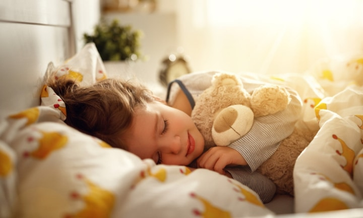 Sometimes all a child wants is to wake up in their own bed. Image: iStock