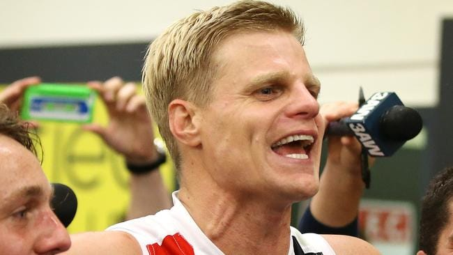 Nick Riewoldt has made the No.12 a famous jumper. Picture: Wayne Ludbey