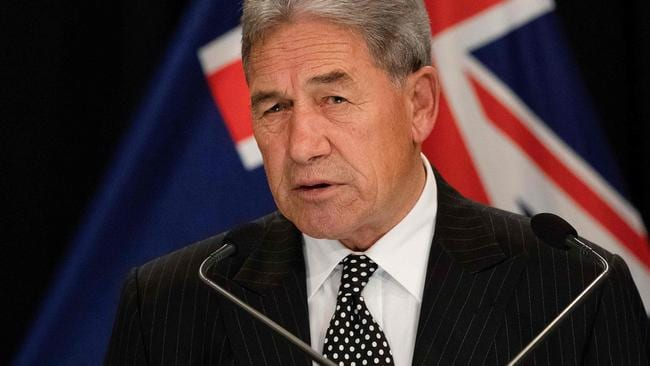 Ms Ardern made Winston Peters her Deputy Prime Minister in return for his support. Picture: Marty Melville/AFP