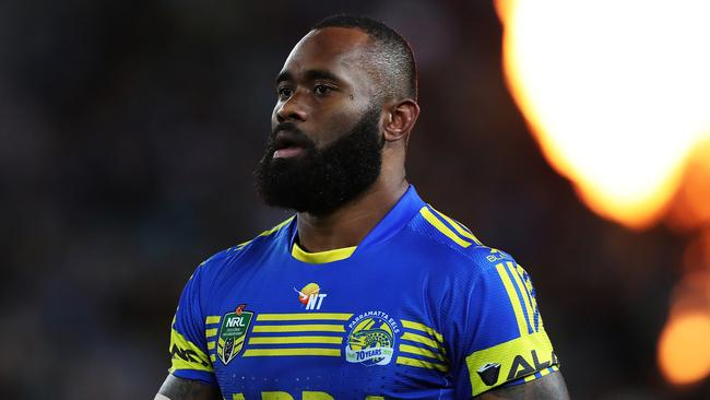 Semi Radradra during his time at the Eels. Picture: Brett Costello