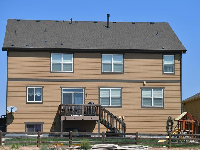 Chris Watts and Shanann Watts' house in Fredrick, Colorado. Picture: Supplied