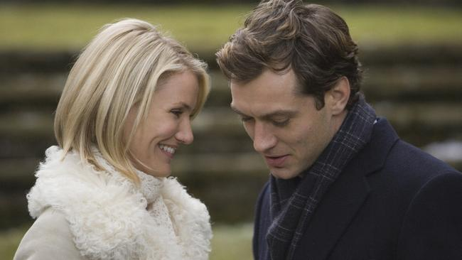 Cameron Diaz and Jude Law star.