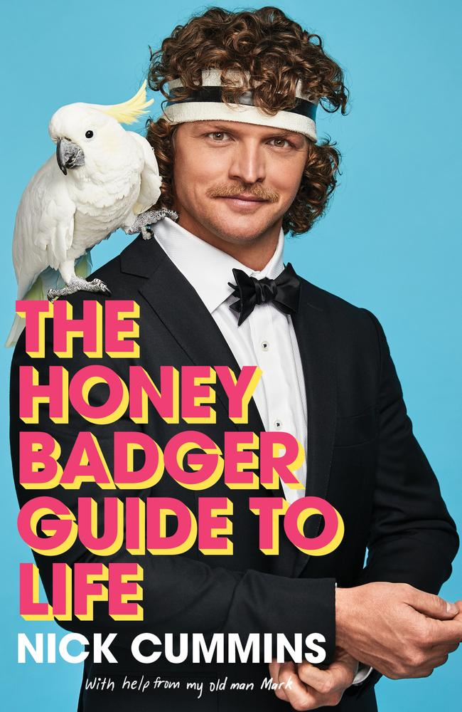 The cover of The Bachelor star Nick Cummins' new book, which he doesn't seem keen to promote.