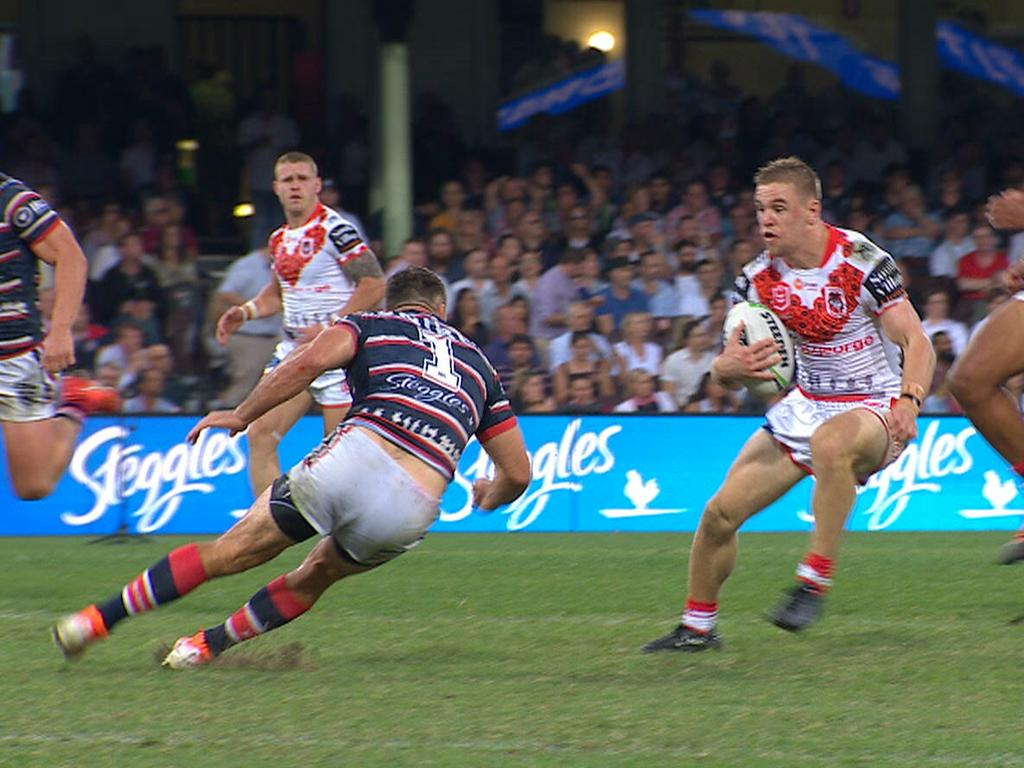 Dufty steps past James Tedesco
