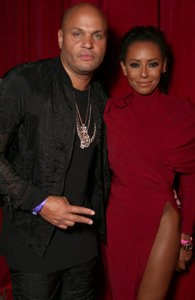 Mel claims Stephen Belafonte began his reign of coercive abuse on their wedding night in 2007. Picture: Getty Images