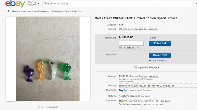 Coles collectables' $500 price tag: Outrage as Stikeez