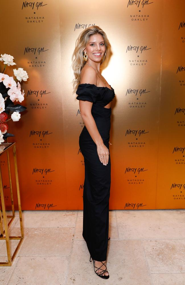 Natasha Oakley has shared her business tips as she launches her 30-piece line with online fashion chain, Nasty Gal. Picture: Getty Images for Nasty Gal