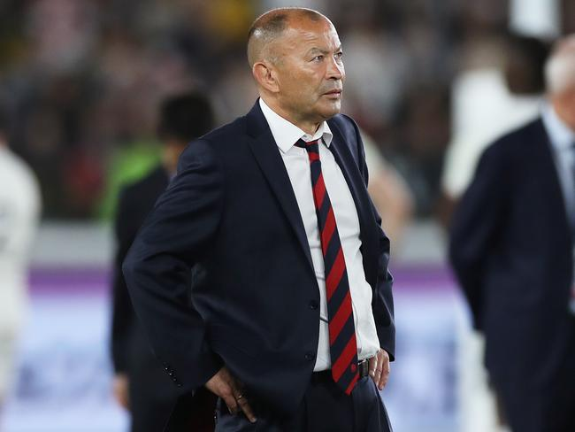 Eddie Jones isn't thinking to far ahead just yet.