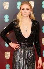 Sophie Turner attends the 70th EE British Academy Film Awards (BAFTA) at Royal Albert Hall on February 12, 2017 in London, England. Picture: Getty
