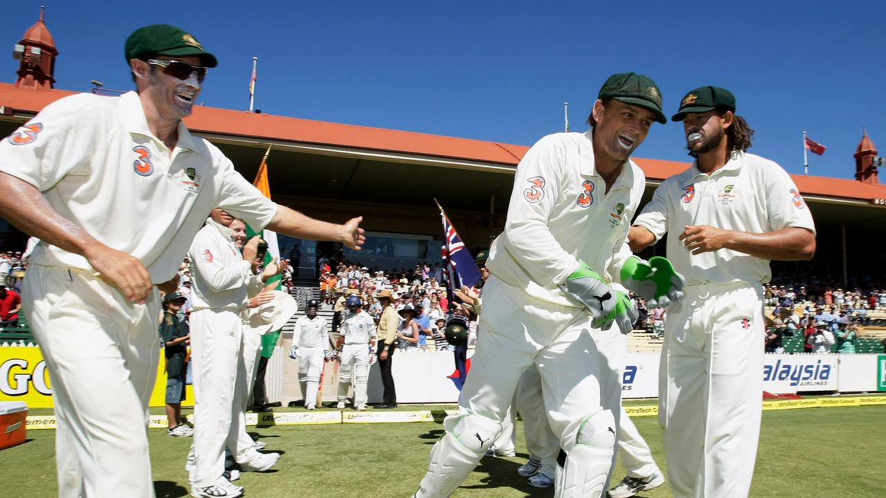 Gilchrist said he entered the series with no plans to call it a day, but a handful of dropped catches and the controversy in Sydney began to change his mind.