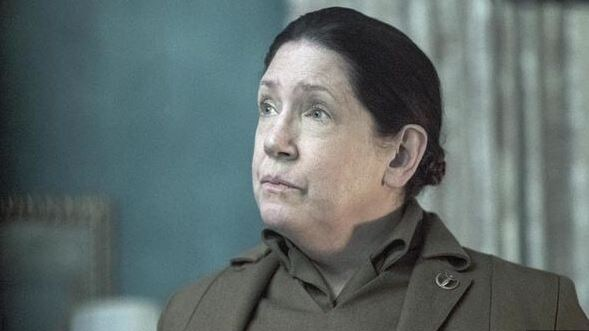 Miller confirmed Aunt Lydia would definitely be returning next season. Picture: SBS