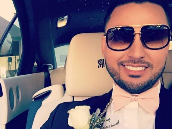 Salim Mehajer was in a state of hypermania around the time of his 2015 wedding, the court heard. Picture: Instagram