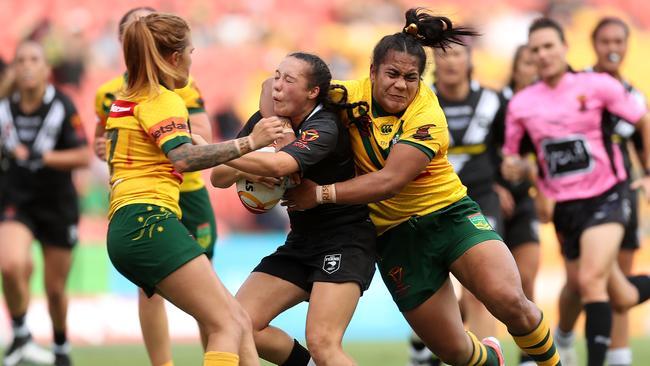 Raecene McGregor impressed throughout for the Kiwi Ferns