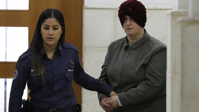 Malka Leifer, a former Australian teacher accused of dozens of cases of sexual abuse of girls at a school. Picture: Ahman Gharabli