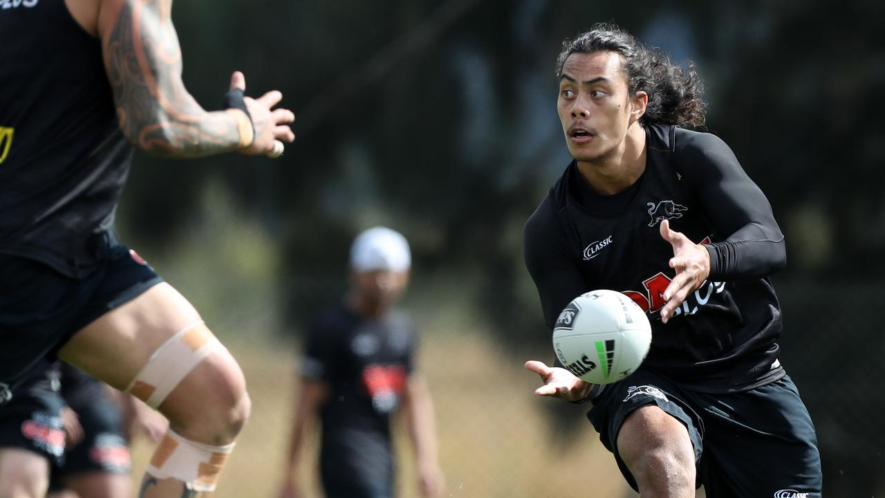 Jarome Luai is tipped to take James Maloney's halves spot. Picture: Jonathan Ng