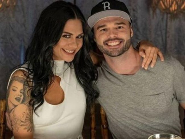 MKR star Amanda Proud and her brother David.