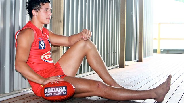 David Swallow... predicted to go as the top pick in the 2010 AFL NAB Draft.