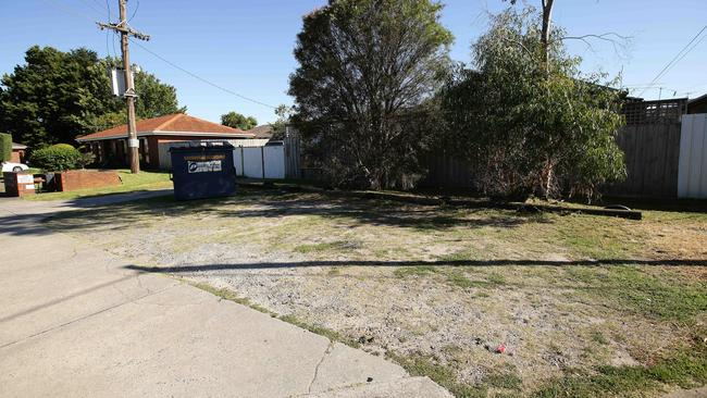 People living in Moncur Ave, Springvale, have parked here for years without issue … until last week. Picture Norm Oorloff