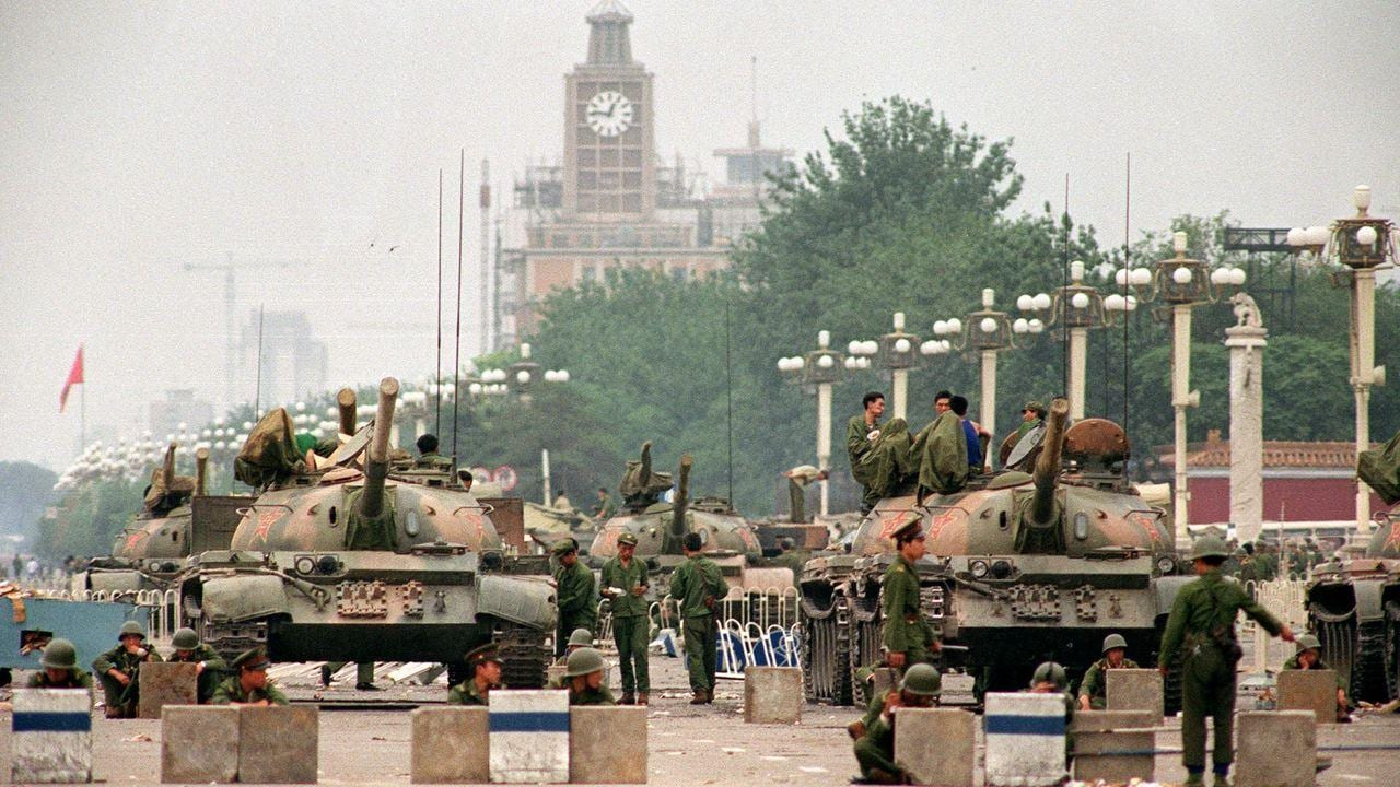 Recounting the Tiananmen Square Protests - Google Hangout