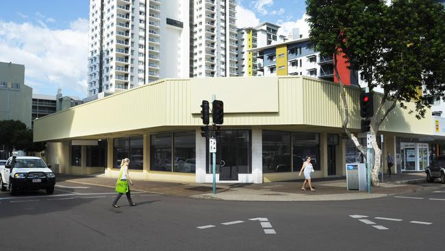 The building on the corner of Cavenagh and Knuckey St where Fishing & Outdoor World will soon be located.