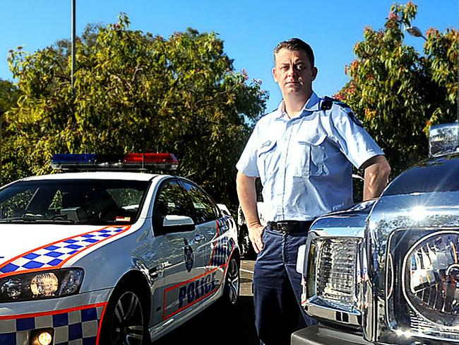 The senior constable was friends with the man.