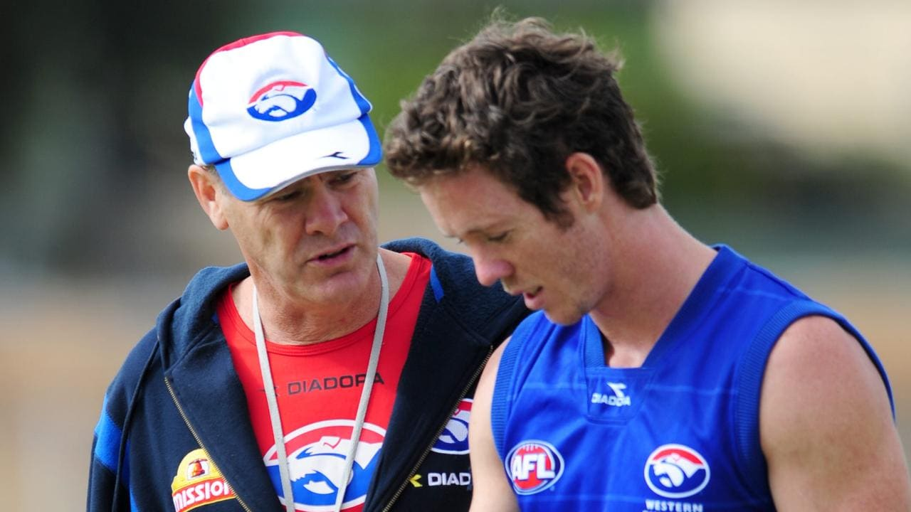 Rodney Eade was sacked when Bob Murphy was at the Bulldogs.