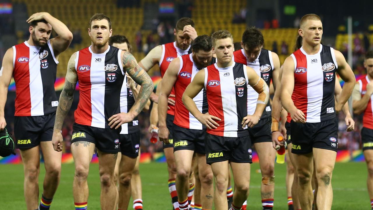 St Kilda conceded nine opening quarter goals on the weekend.