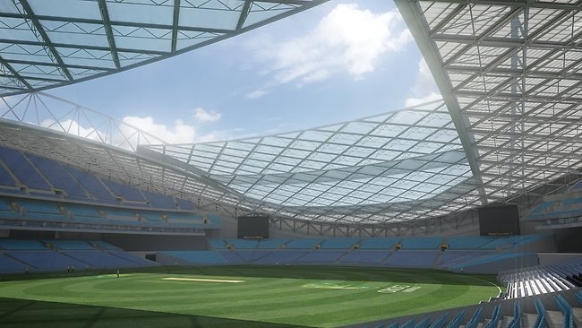 Anz Stadium Revamp To Include Roof Under 250million State