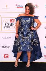 Casey Donovan arrives at the 60th Annual Logie Awards at The Star Gold Coast on July 1, 2018 in Gold Coast, Australia. Picture: Chris Hyde/Getty Images