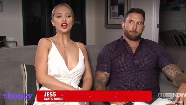 Tensions were running high between Jess and Dan.