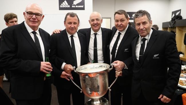 The All Blacks have received a boost with assistant coaches Ian Foster and Mike Cron re-signing.