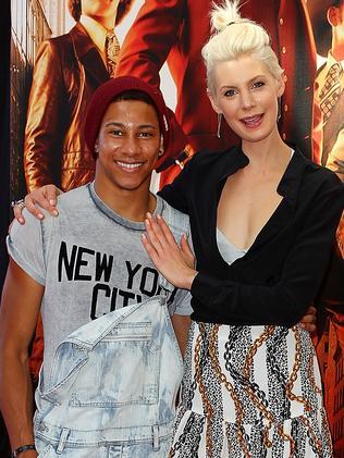 MTV VJs Kate Peck and Keiynan Lonsdale.