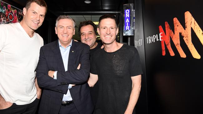Wil Anderson replaced Mick Molloy on The Hot Breakfast. Picture: Nicole Garmston