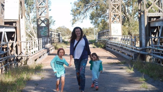 Rachael Mogan McIntosh and her family moved to France eight months ago. Photo: Supplied